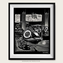 "Load image into Gallery viewer, Original Rat Rod Art ""Ride A Rat"""