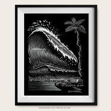 Load image into Gallery viewer, vw tsunami litho print by bomonster