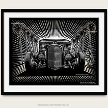 "Load image into Gallery viewer, Original Hot Rod Art ""Hollywood Hot Rod"""