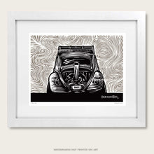 Load image into Gallery viewer, bomonster psychedelic vw bug art