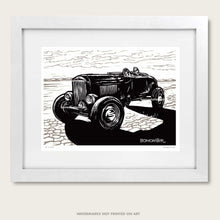 Load image into Gallery viewer, bomonster hot rod art of dry lakes style model a roadster