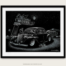 "Load image into Gallery viewer, Original Hot Rod Art ""Blue Swallow"""