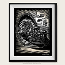 "Load image into Gallery viewer, Original Drag Racing Art ""Dream Big"""