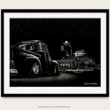 "Load image into Gallery viewer, Original Lowrider Truck Art ""Tito's Tacos"""