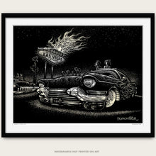 "Load image into Gallery viewer, Original Custom Cadillac Art ""Vegas Cadillac"""