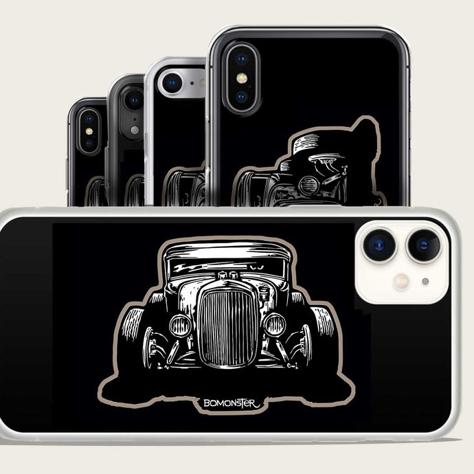 moel a ford hot rod on iphone case by bomonster