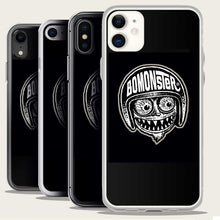 Load image into Gallery viewer, bomonster avatar logo on iphone case