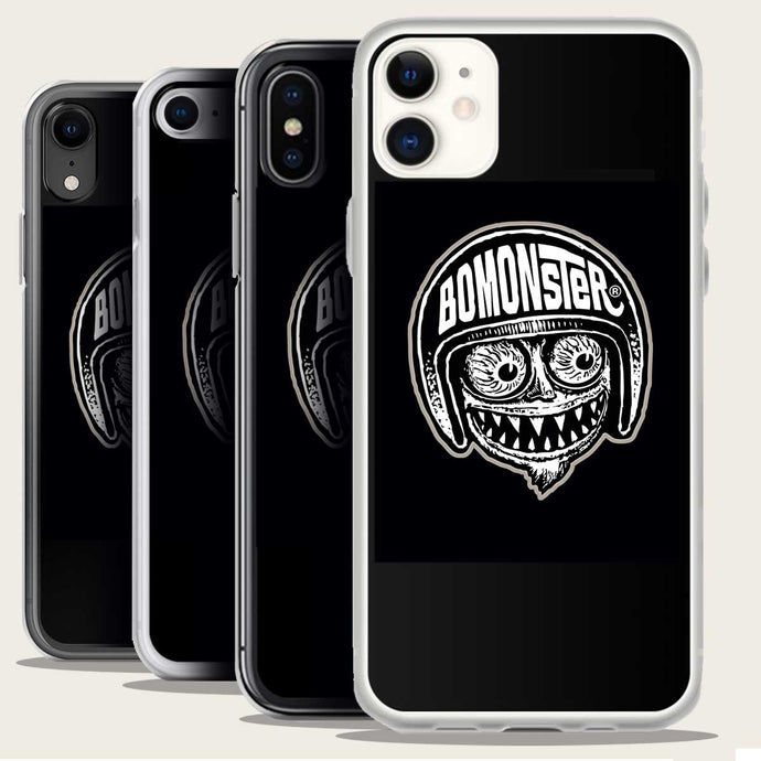 bomonster avatar logo on iphone case