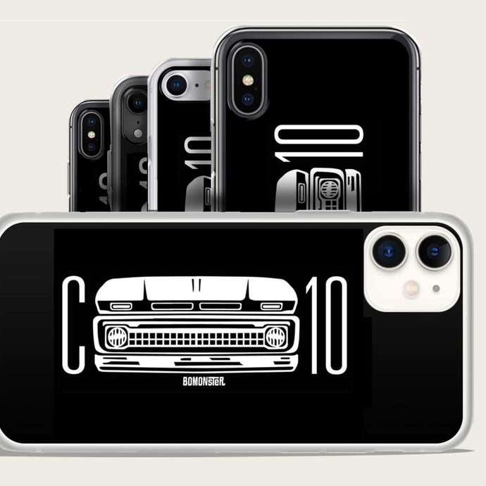 chevy c-10 grill iphone case by bomonster
