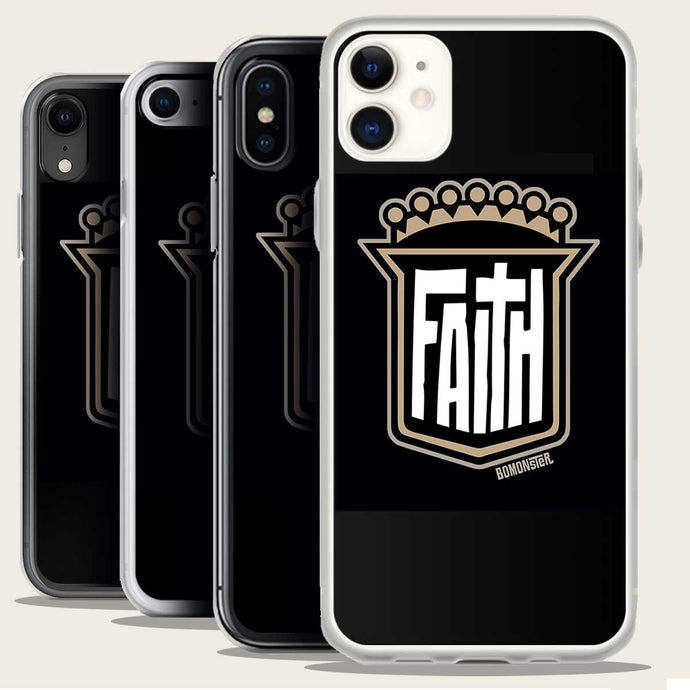 shield of faith design on iphone case by bomonster