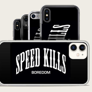 speed kills boredom iphone case by bomonster