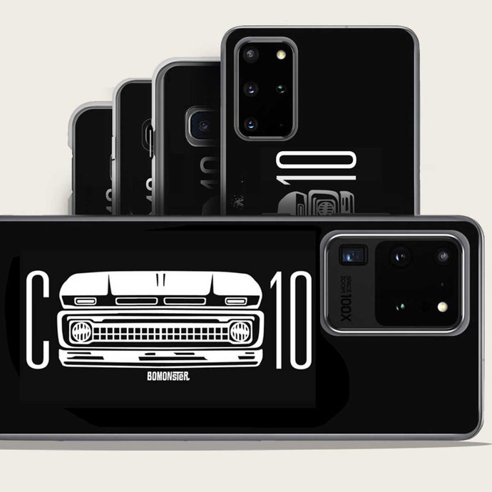 chevy c-10 truck grill samsung phone case by bomonster