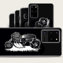 Load image into Gallery viewer, monster hot rod driver lights welding torch with motor flame samsung galaxy phone case