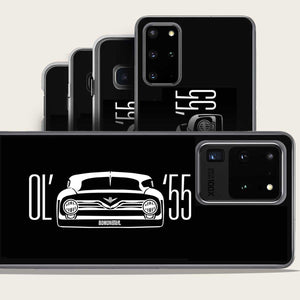 classic 1955 ford truck grill samsung galaxy case by bomonster