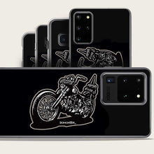 Load image into Gallery viewer, harley chopper samsung galaxy case by bomonster