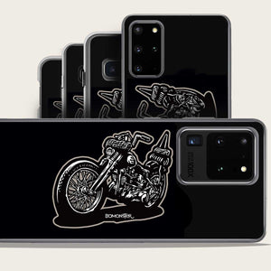harley chopper samsung galaxy case by bomonster