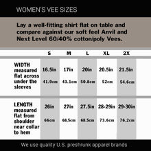"Load image into Gallery viewer, Women's Harley Vee Neck Top ""V-Twin Heart"""