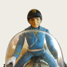 Load image into Gallery viewer, toy police motorcycle rider detail