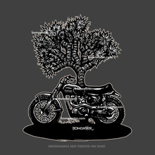Load image into Gallery viewer, triumph motorcycle desert racer by bomonster