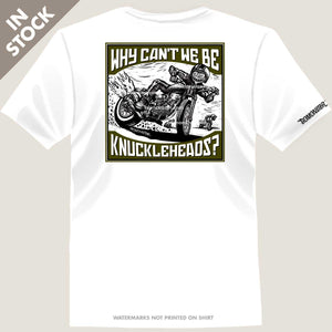 harley knucklehead rider on flat track motorcycle
