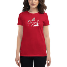 "Load image into Gallery viewer, Women's Fashion Fit Tee ""Weld Sparks"""