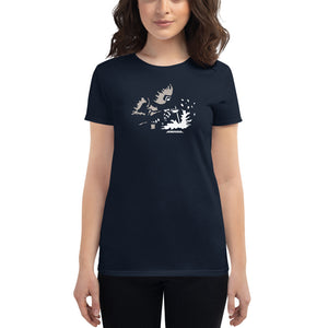 "Women's Fashion Fit Tee ""Weld Sparks"""