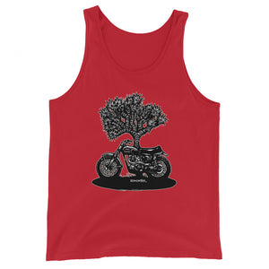"Men's Comfy Tank Top ""Desert Sled"""