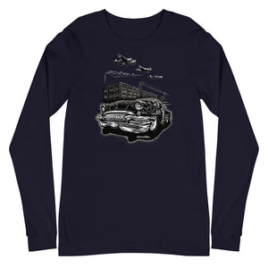 "Men's Bella+Canvas Long Sleeve ""Detroit Smoke II"""
