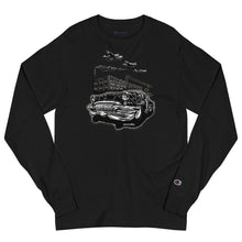 "Load image into Gallery viewer, Men's Champion Long Sleeve Shirt ""Detroit Smoke II"""