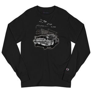 "Men's Champion Long Sleeve Shirt ""Detroit Smoke II"""