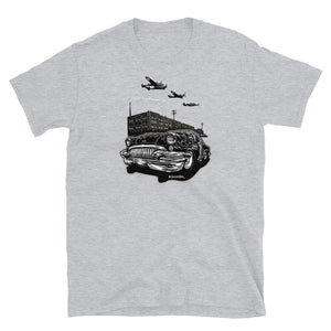 "Men's Bella+Canvas Tee ""Detroit Smoke II"""