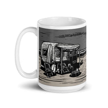 Load image into Gallery viewer, Vintage Beach Trailer Ceramic Mug