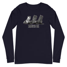 "Load image into Gallery viewer, Men's Bella+Canvas Long Sleeve Tee ""Route 66 Cadillacs"""