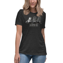 "Load image into Gallery viewer, Women's Bella+Canvas Relaxed Tee ""Route 66 Cadillacs"""
