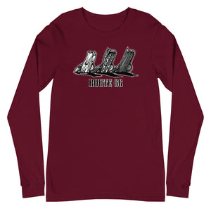 "Men's Bella+Canvas Long Sleeve Tee ""Route 66 Cadillacs"""