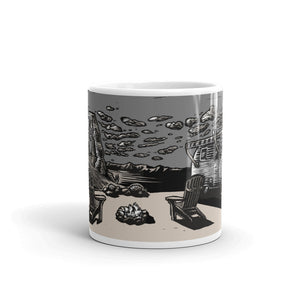 Vintage Trailer Arches Ceramic Mug
