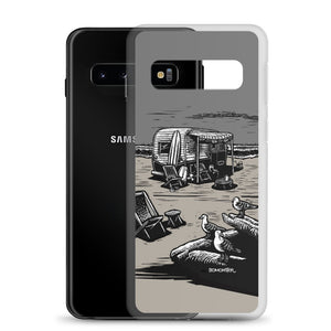 """Vintage Beach Trailer"" Samsung Case"