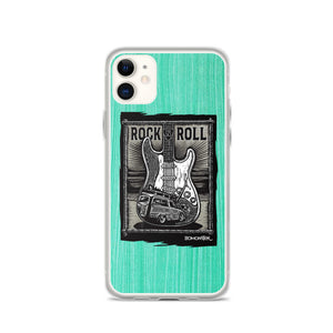 Surf Guitar Woody iPhone Case
