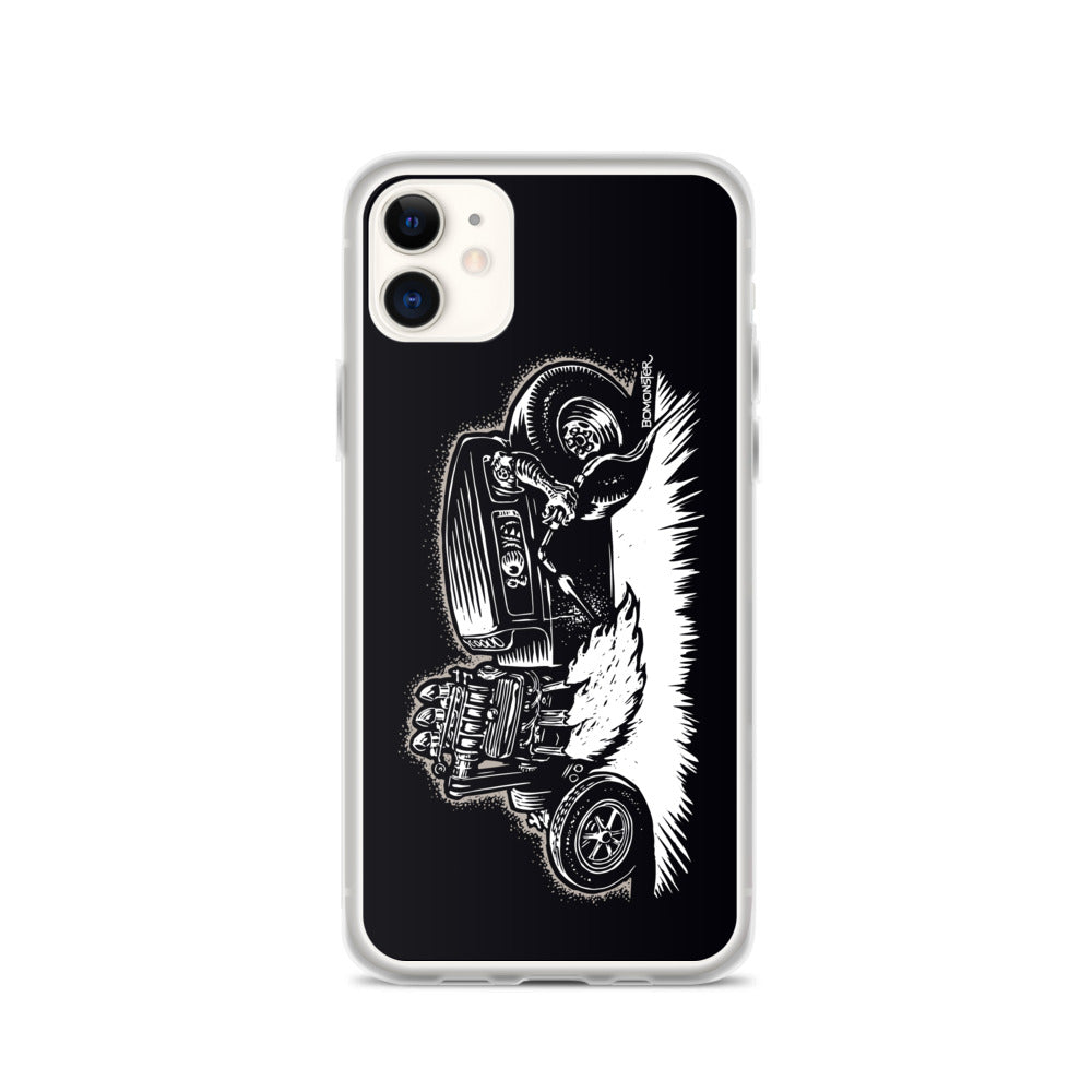 Monster Hot Rod iPhone Case