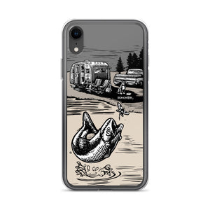 "Vintage Trailer ""Fish Story"" iPhone Case"