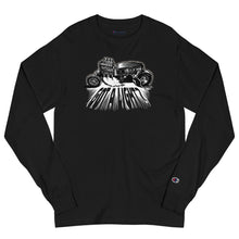 "Load image into Gallery viewer, Men's Champion Long Sleeve Shirt ""Got A Light?"""