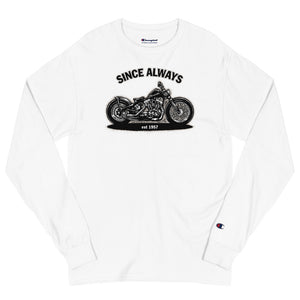 "Men's Champion Long Sleeve Shirt ""Since Always"""