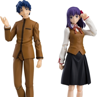 figma Fate/stay night [Heaven's Feel] 間桐慎二&間桐桜《20/3月預定》
