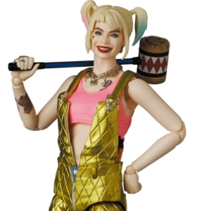 MAFEX HARLEY QUINN(OVERALLS Ver.)《21年12月預定》