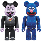 BE@RBRICK セサミストリート COUNT VON COUNT & GROVER 2 PACK《18/12月預定》