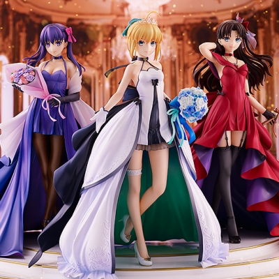 Fate/stay night -15th Celebration Project- セイバー 遠坂凛 間桐桜 -15th Celebration Dress Ver.- Premium Box《21/6月預定》