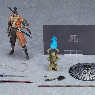 figma SEKIRO: SHADOWS DIE TWICE 隻狼 DXエディション《21/1月預定》