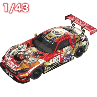 1/43 GOODSMILE RACING&TYPE-MOON RACING 2019 SPA24H Ver.《20/4月預定》