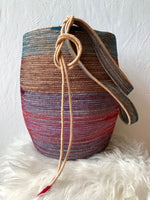 Indigo Heart  Foraging Basket
