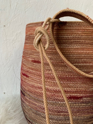 handmade knitting bag